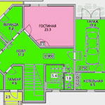 Варианты планировки двухэтажных домов с гаражом