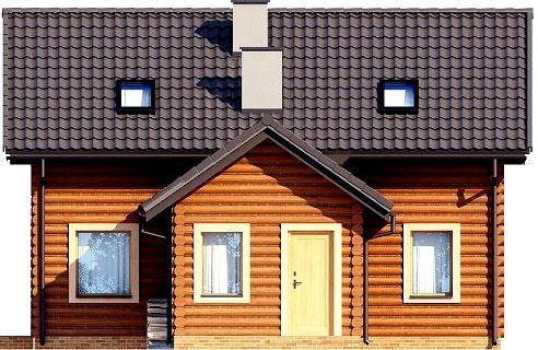 проект деревенского дома