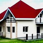 Двухэтажный дом для дачи