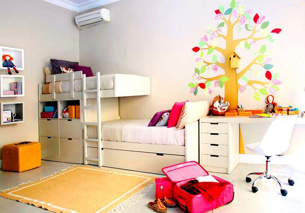 комната для дошкольницы
