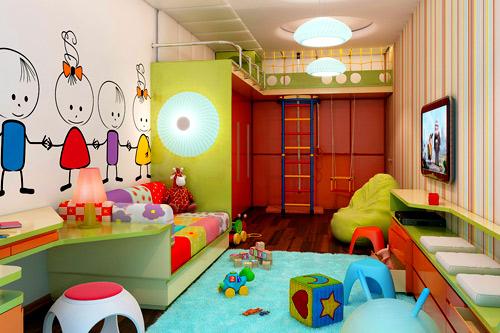 Варианты планировки детской комнаты 9, 10, 12 и 15 квадратных метров