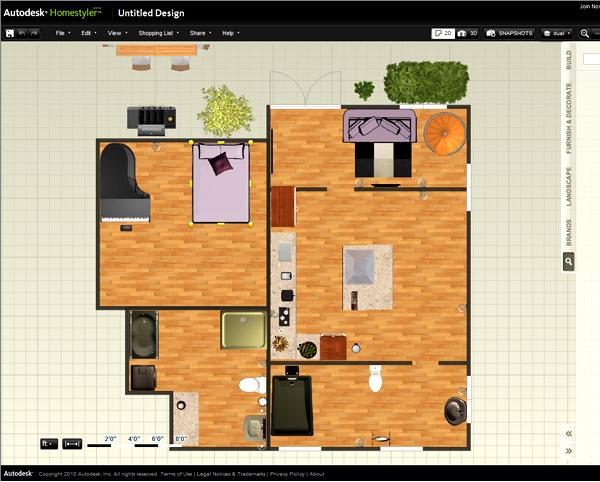 программа Autodesk Homestyler