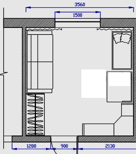 детская комната 12 кв м