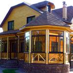 Планировка домов с верандой