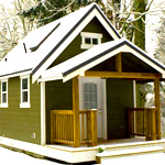 Проекты дачных домов с верандой и мансардой