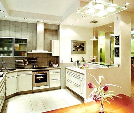освещение кухни бра