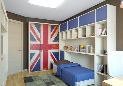 небольшая спальня