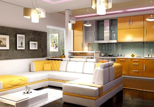 мебель кухня гостиная
