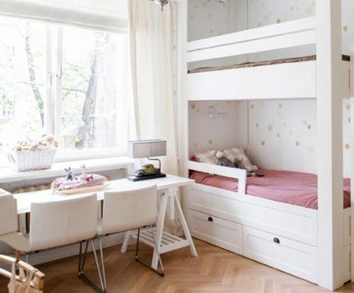 столб детская спальня