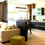 Планировка кухни и гостиной