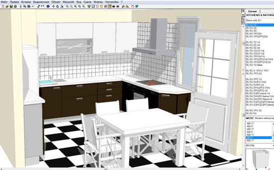 программа проект кухня