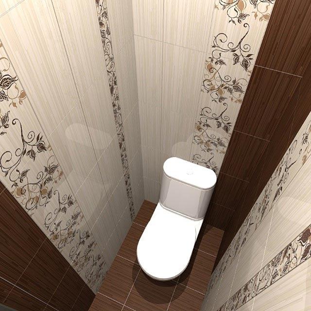 Маленький туалет дизайн панелями пвх