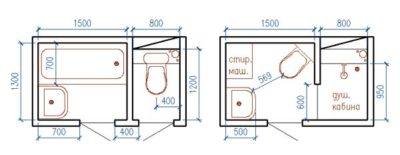 план туалет