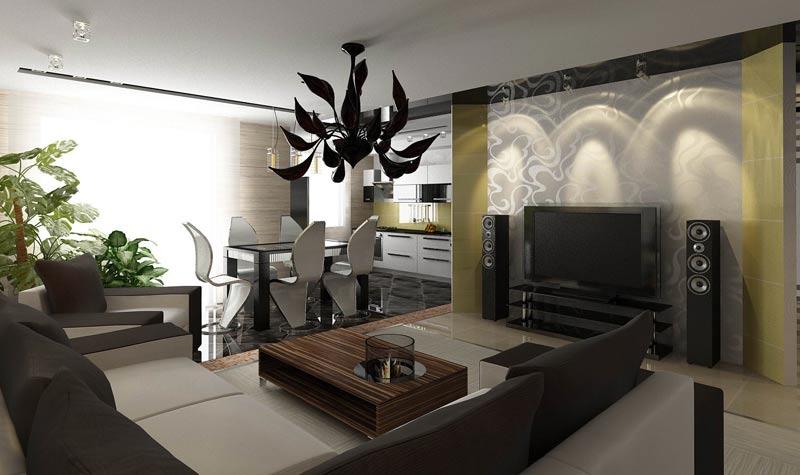 увеличение пространства в комнате