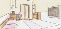 эскиз комнаты