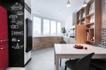 панорамное остекление кухни