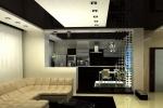 контрастный декор помещения