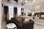 стиль барроко в гостиной