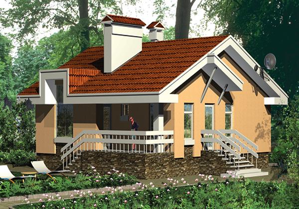 Дом с цокольным этажом - удобно и комфортно
