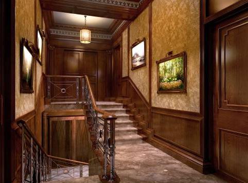 дизайн интерьера дома частного дома в английском стиле