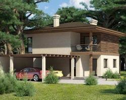 Дом с навесом – практичное решение для любой семьи