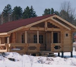 Планировка одноэтажного дома 8 на 8
