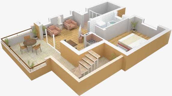 самостоятельная планировка дома