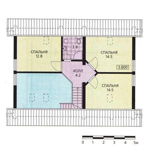 план дома 120 кв. м.