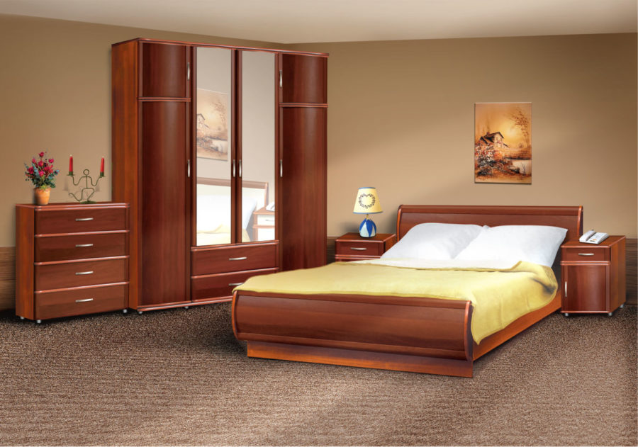 Дизайн спальни дома