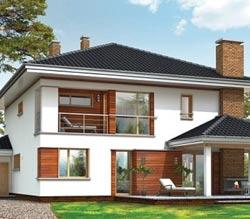 Планировка просторного дома 10х10 для большой семьи