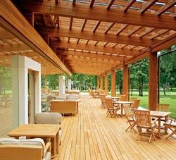 Проект и планировка деревянного дома 10х13