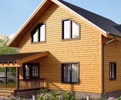 Дом с угловой террасой – все правила оформления