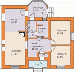 Планировка дома до 100 кв. м.: оригинальность и красота