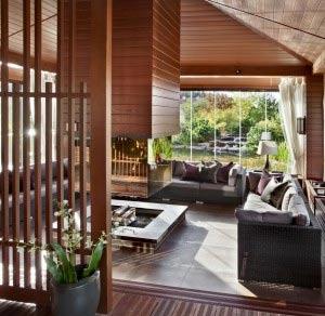 Проект планировки одноэтажного дома с 2 спальнями