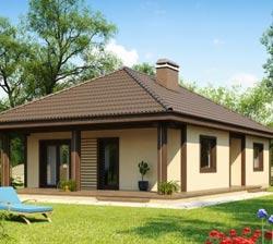 Планировка одноэтажного дома 11х12 – экономия и красота