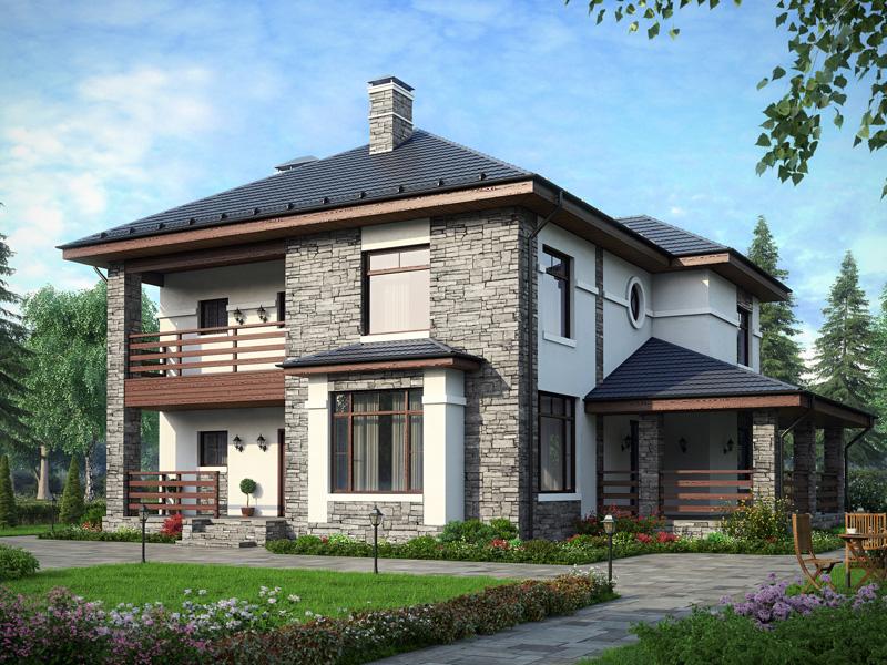 Как сделать проект двухэтажного дома