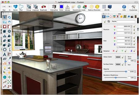 планировка квартиры в онлайн сервисе