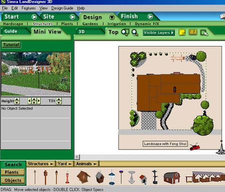 программа Sierra LandDesigner 3D