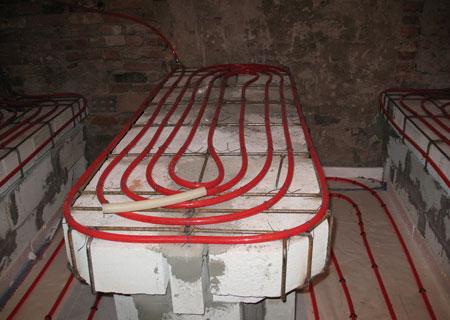 отопление в хаммаме