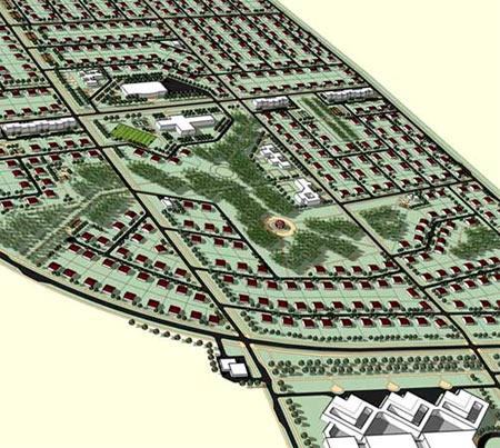 дорожная сеть поселка