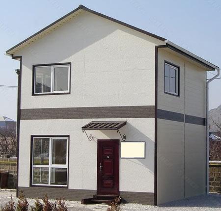 двухэтажный дом 6x6