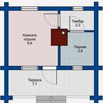 Проекты и планировка бани 5х5