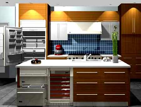 кухня Google sketchup
