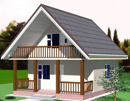 проект небольшого дома