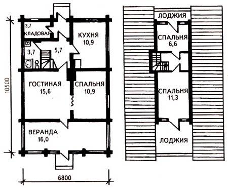 планировка подсобных помещений