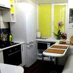 Место для холодильника на маленькой кухне