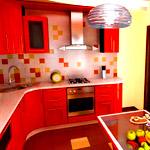 Дизайн угловой кухни 9 квадратных метров