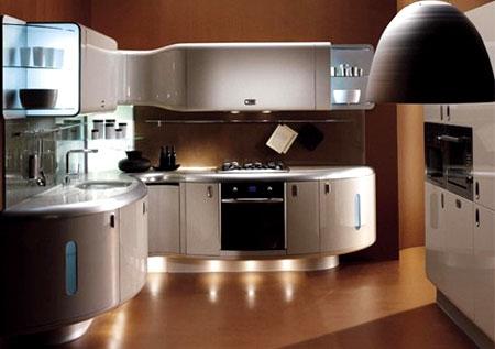 оформление и обустройство кухни в частном доме идеи и фото