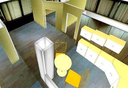 3D интерьер