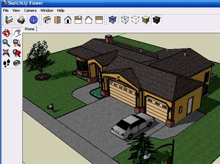 программа GoogleSketchUp